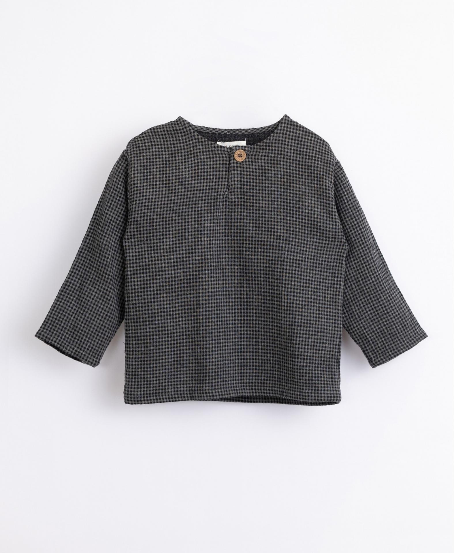 Camisa de tejido de algodón PLAY UP