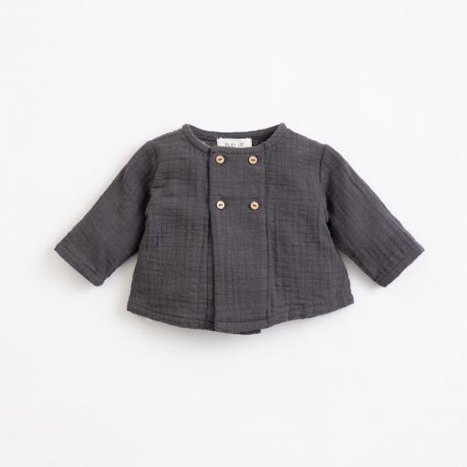 Jersey de algodón con botones de coco PLAY UP