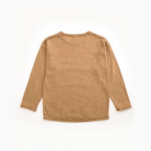 Camiseta de algodón orgánico con bellotas PLAY UP  [1]