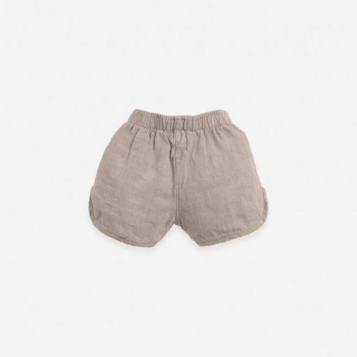 Pantalón corto con cordón de yute Play Up [1]