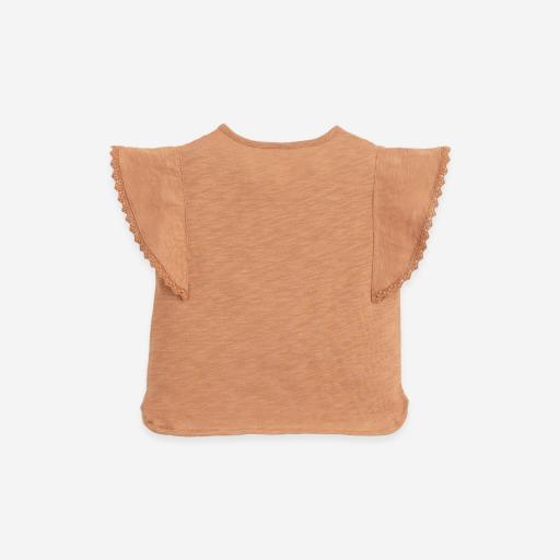 Camiseta de algodón orgánico con aplicaciones Play Up  [1]