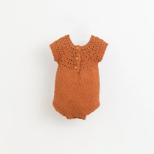 Mono tricot con botones de madera Play Up [1]