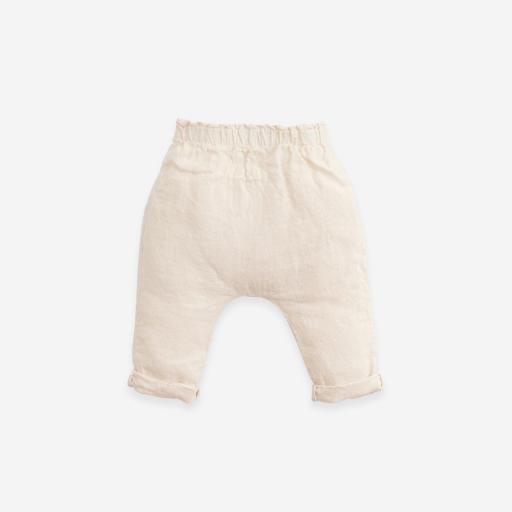 Pantalón de lino con cintura elástica Play Up [1]