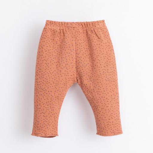 Pantalón con patrón y botones decorativos PLAY UP [1]