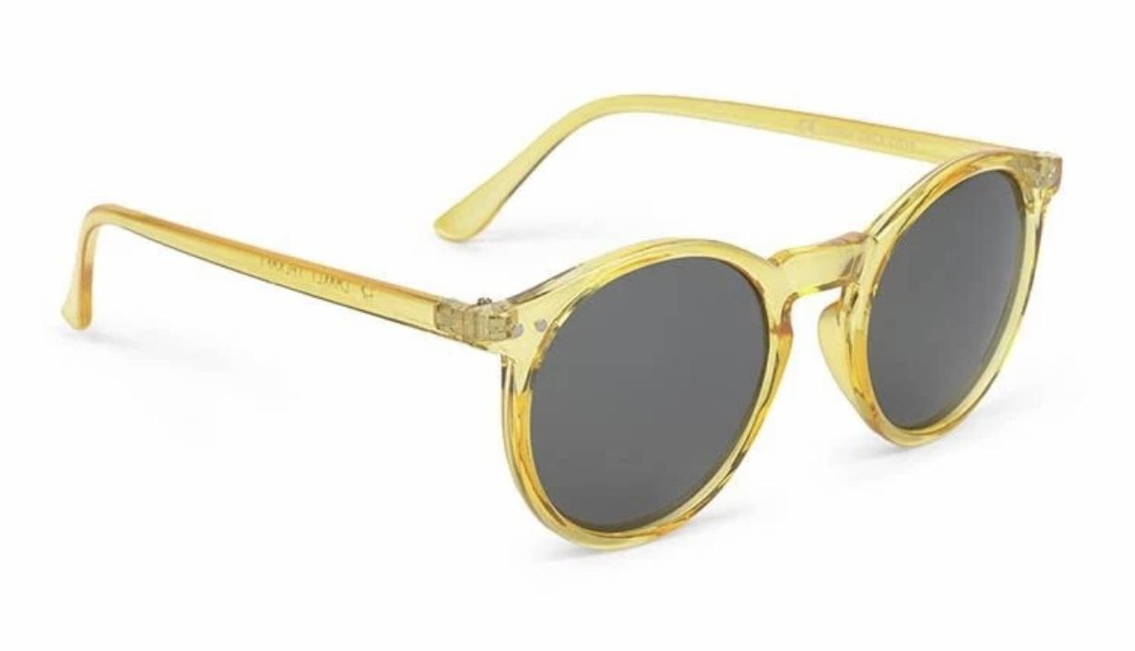 GAFAS DE SOL CHARLES IN TOWN AMARILLO TRANSPARENTE Charly Therapy