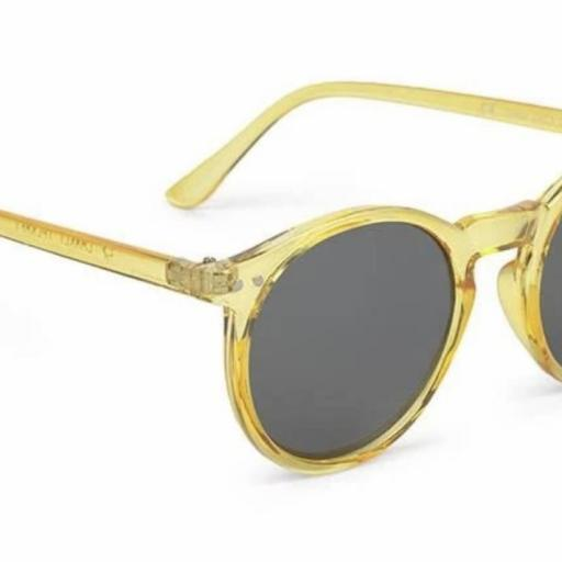 GAFAS DE SOL CHARLES IN TOWN AMARILLO TRANSPARENTE Charly Therapy  [0]