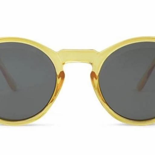 GAFAS DE SOL CHARLES IN TOWN AMARILLO TRANSPARENTE Charly Therapy  [1]