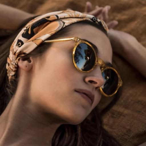 GAFAS DE SOL CHARLES IN TOWN AMARILLO TRANSPARENTE Charly Therapy  [2]