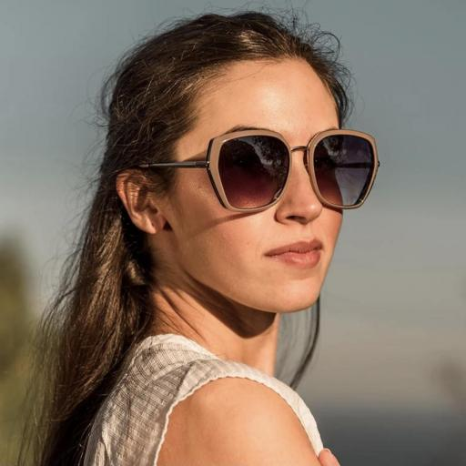 GAFAS DE SOL CHARLY THERAPY MODELO Olivia Taupe Negro [2]