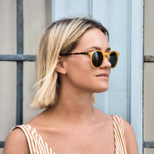GAFAS DE SOL CHARLY THERAPY MODELO Charles In Town Mostaza [3]