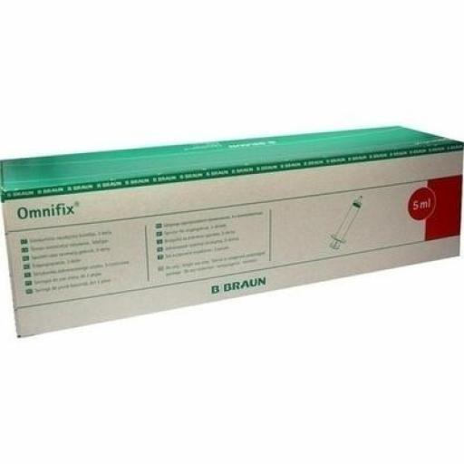 Jeringa Omnifix 5 ml. [1]