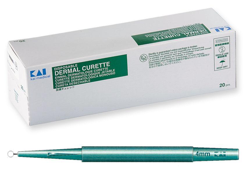 Cureta Dermatologica Desechable Ø 7 mm.