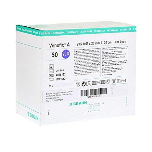 Palomilla de infusión Venofix A G23 20 mm Azul [1]