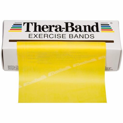Thera Band Amarillo 14,5 cm x 5,5 m.