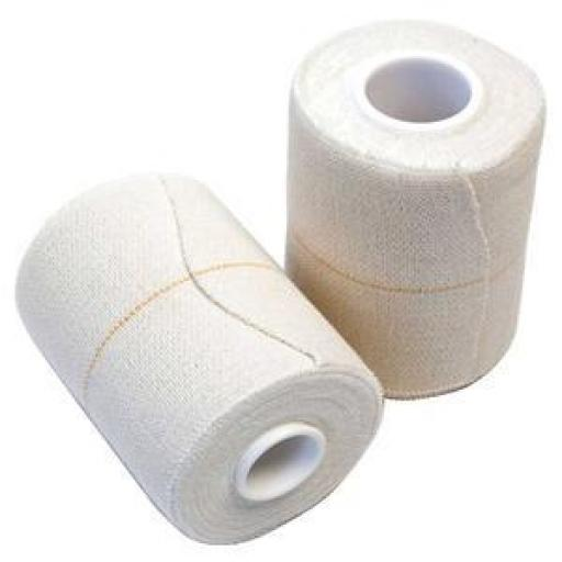Venda Elástica Adhesiva 10 cm x 2,7 m. - Lenoplast Free. [1]