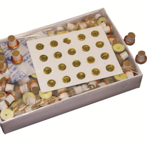 Conos de Moxa coreana con adhesivo (200 Ud).