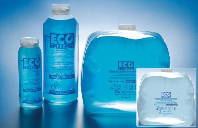 Gel Ultrasonidos 1000 ml Azul.