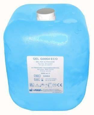 Gel Ultrasonidos 5000 ml Azul flexible.