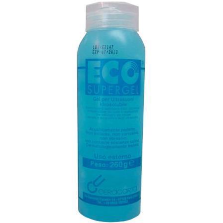 Gel Ultrasonidos 250 ml Azul.
