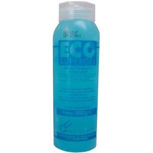 Gel Ultrasonidos 260 ml Azul.