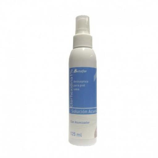 Clorhexidina 1% Acuosa 125 Ml. Spray.