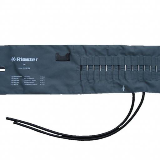 Brazalete / Manguito Obeso para Tensiometro Riester.