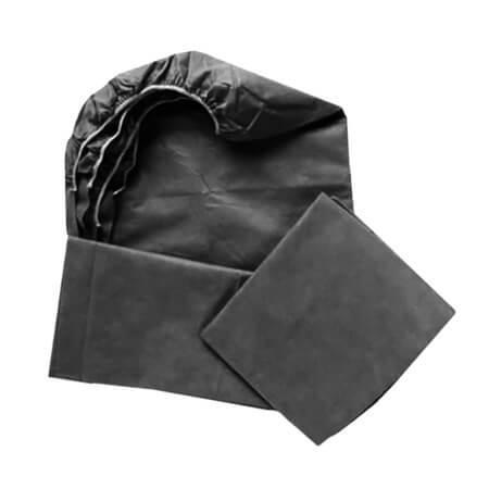 Cubre camillas Ajustable 95 x 220 Negro 40 g. (Pack 5 ud).