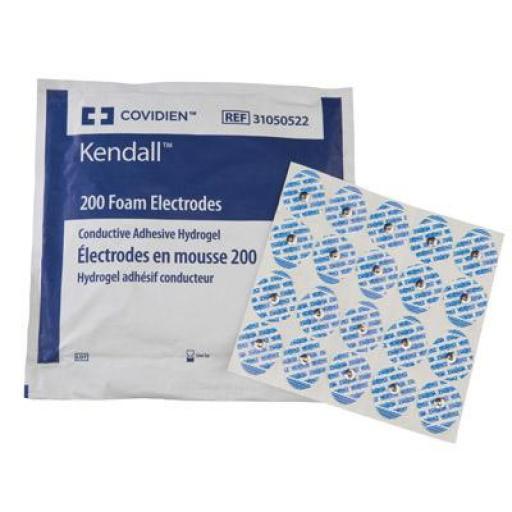 Electrodos ECG (100 ud). [1]