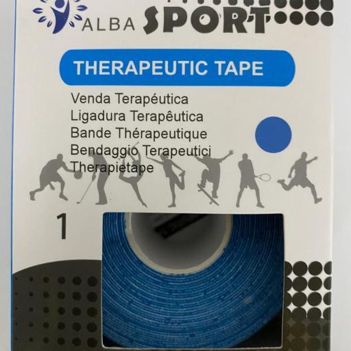 """Kinesiotape - Vendaje Neuromuscular  """"Alba Sport Azul"""""""