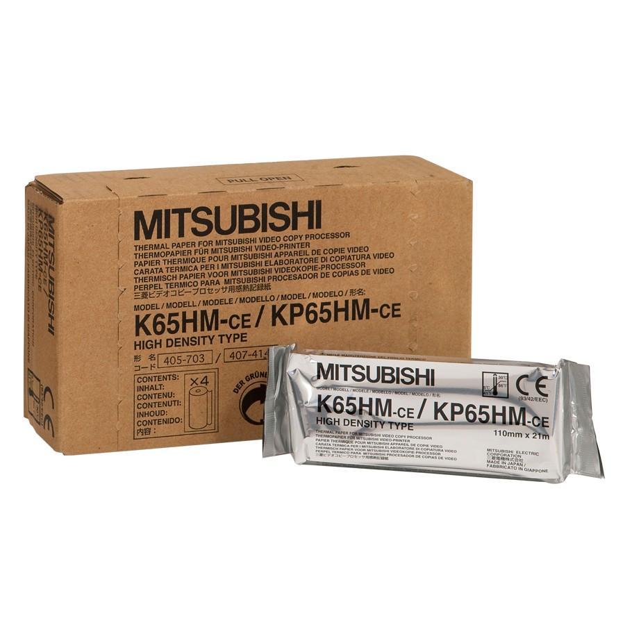 Papel Térmico Ecográfico Mitsubishi K65HM.