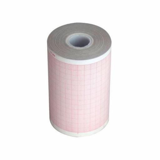 Papel Térmico para ECG 60 mm.