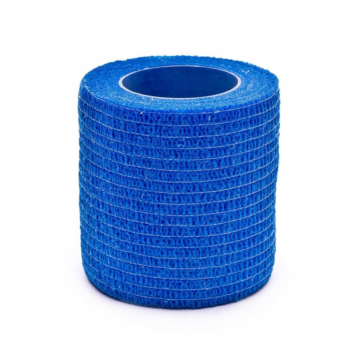 Venda Elástica Cohesiva 5 cm x 4,5 m Azul.