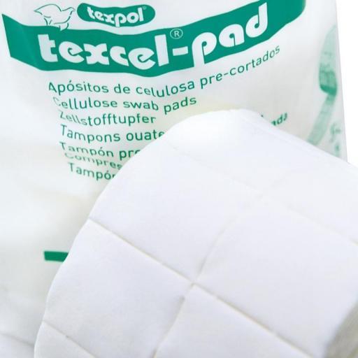 Apósito de Celulosa Precortada TEXCELL-PAD.