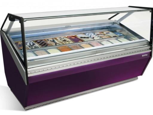 Vitrina expositora de helados VCB12H INFRICO
