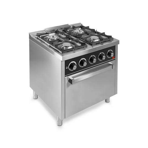 Cocina a gas C4F750H 4 fuegos con horno