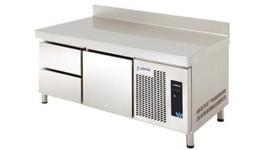 MESA REFRIGERADA MPGB-135 HC 3C GASTRONORM DE ALTURA 600MM