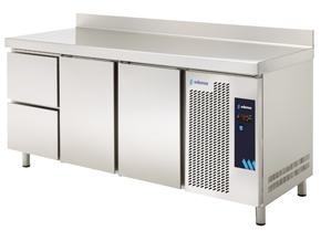 MESA REFRIGERADA MPG-180 HC HDD GASTRONORM CON CAJONES SERIE GN 1/1