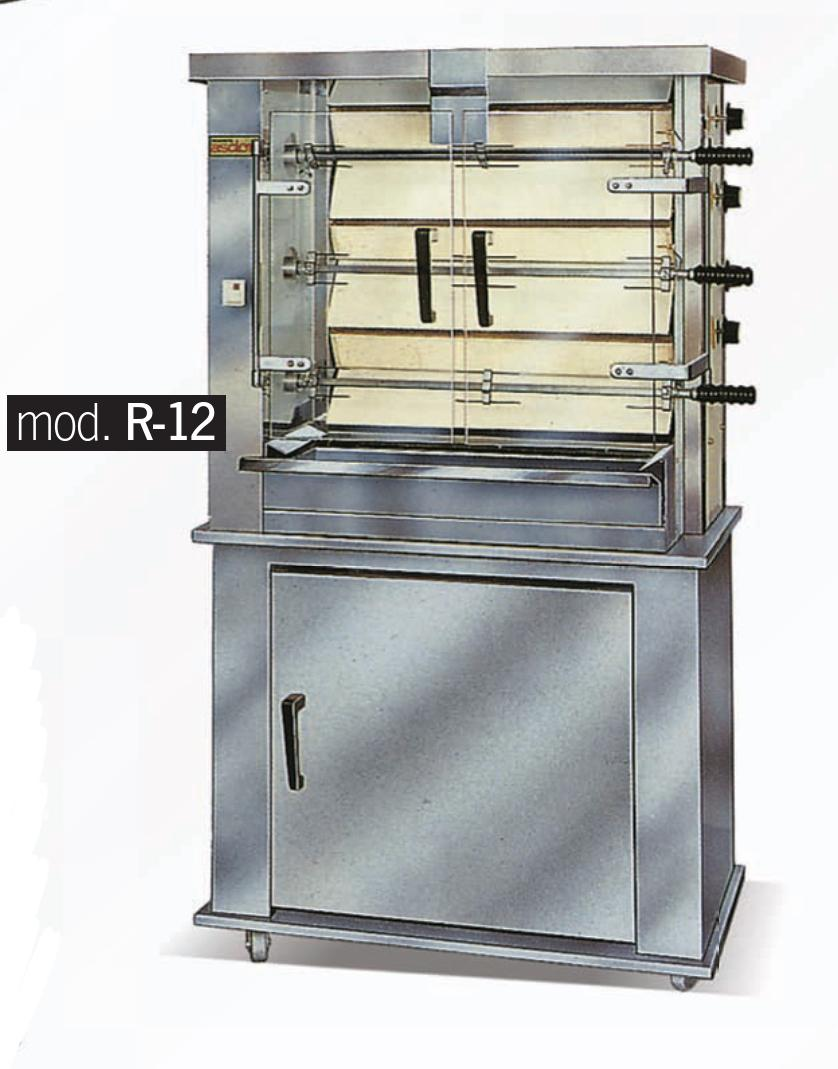 Asador de pollos R-12 ASDOR