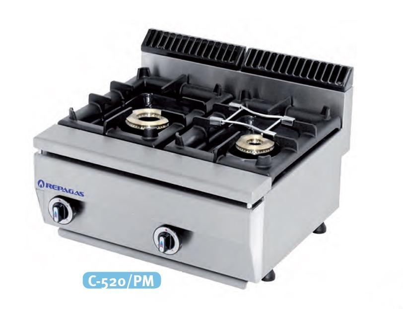 Cocina a gas C-520/PM