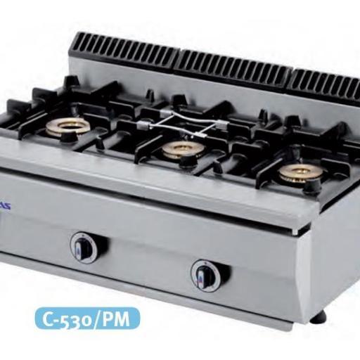 Cocina a gas C-530/PM