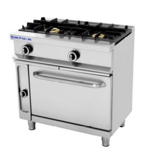 Cocina a gas con horno CG-521