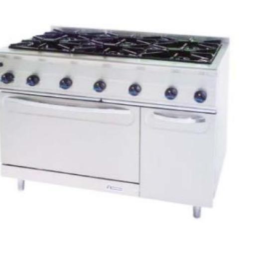 Cocina a gas con horno MG-1200/6H