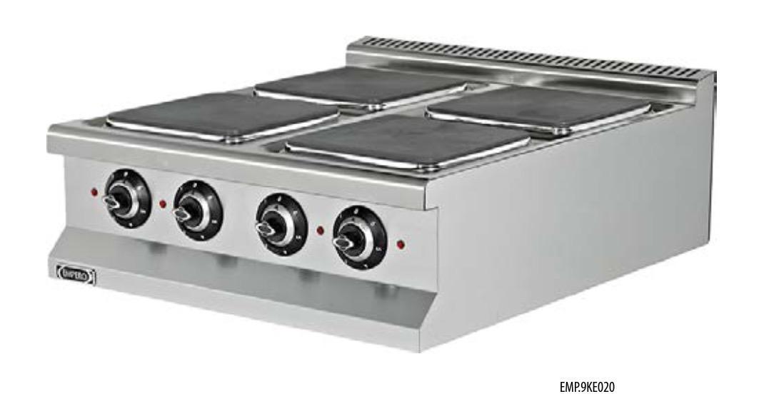 Cocina eléctrica EMP.9KE020