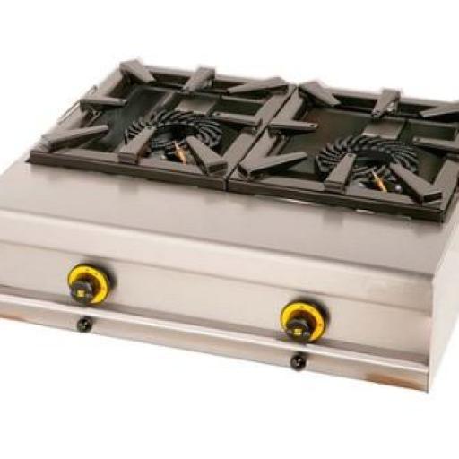 Cocina de sobremesa a gas COG2