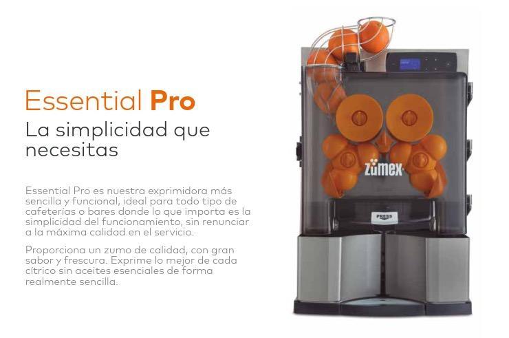 Exprimidor Essential PRO ZUMEX