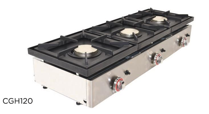 Cocina a gas CGH120