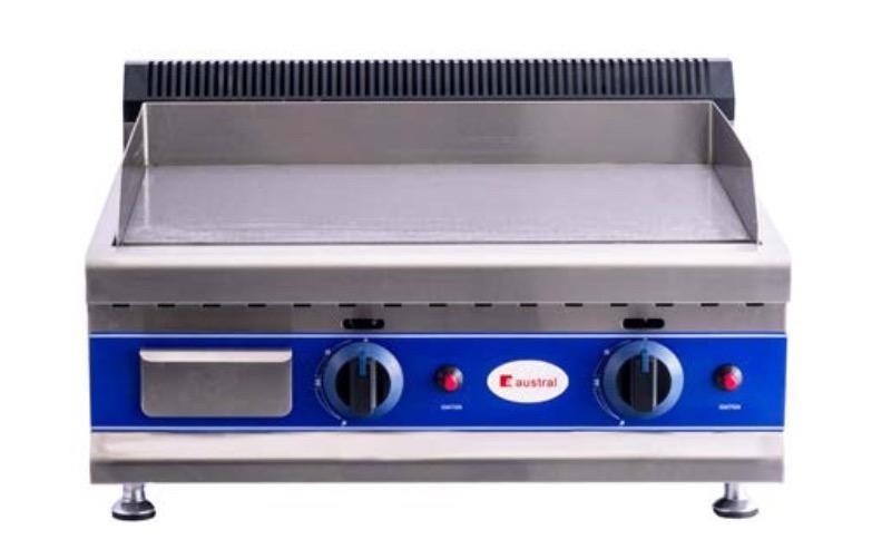 Plancha a gas HGT-600D Cromo duro
