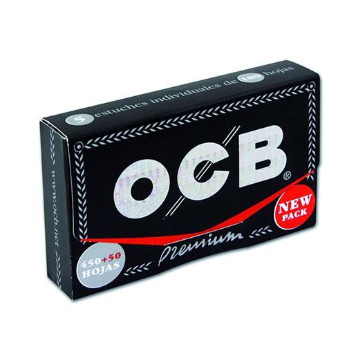 OCB PREMIUM 78mm 500 Hojas