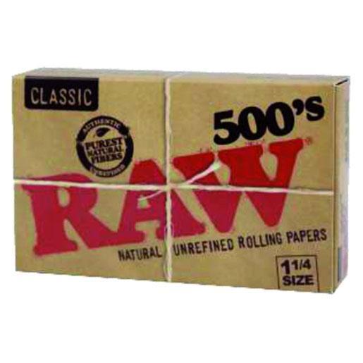 RAW 78mm 500 Hojas
