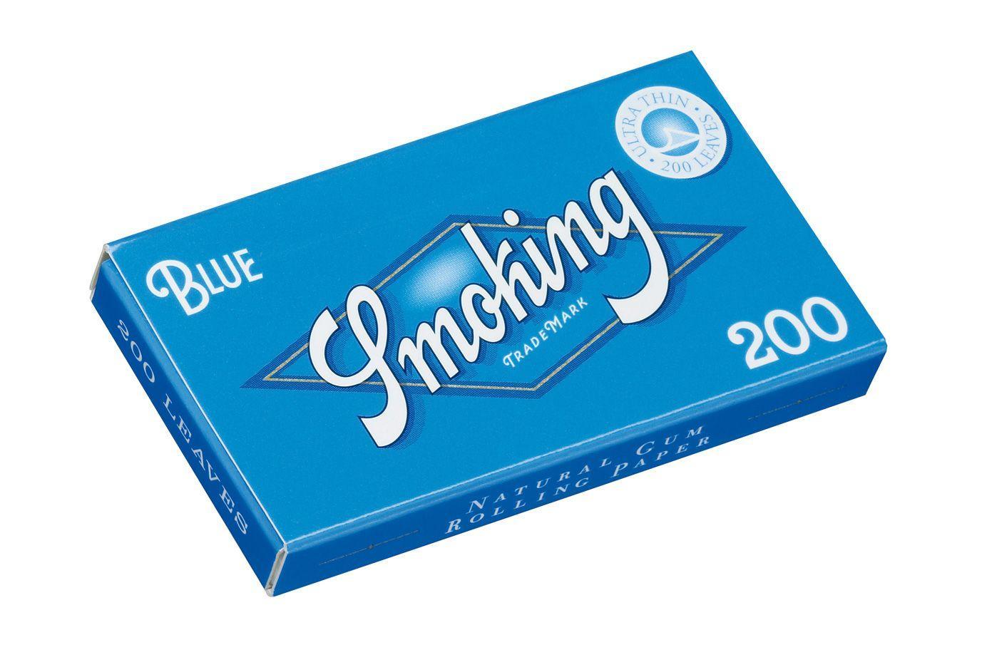 SMOKING BLUE 200 Hojas